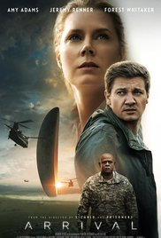 Arrival, science fiction, movie, aliens, review, love, language, choices